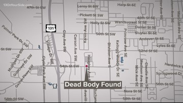 Body found in car parked at Wyoming Home Depot
