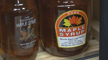 'Excellent year' for Michigan maple syrup production due to weather