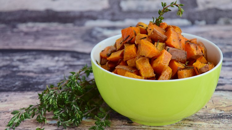 No Carbs? No Way! Moroccan Spiced Sweet Potatoes