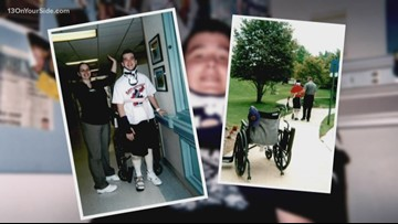 Brother's incredible recovery spurs sister's career