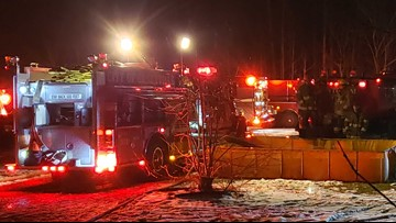 Montcalm County home destroyed in early morning fire