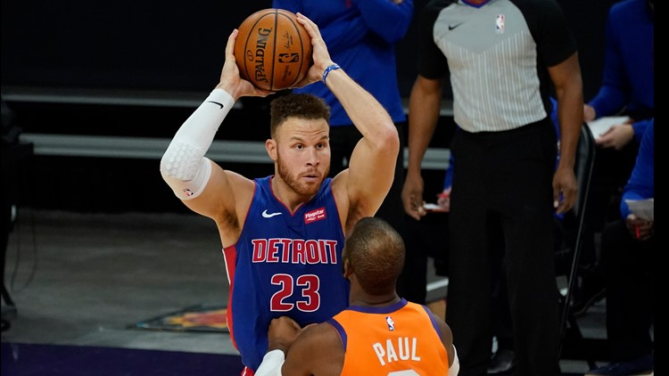 AP source: Blake Griffin, Detroit Pistons agree to buyout