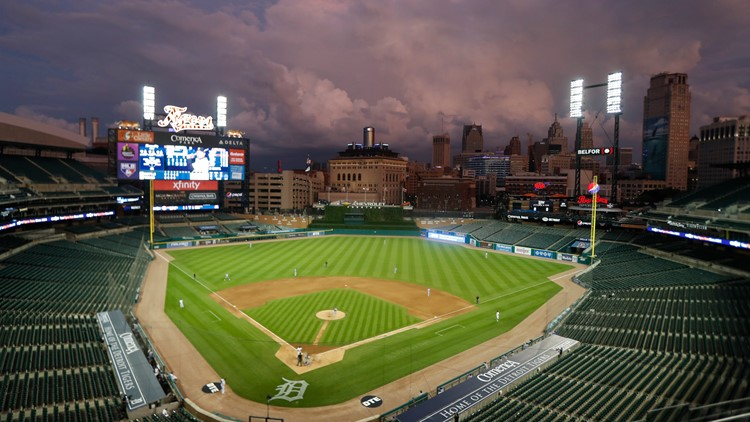 Tigers Opening Day Climate