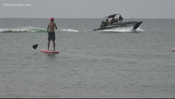 The Great Lakes Surf Festival at Pere Marquette Beach