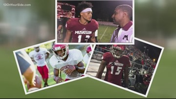 Mother of former Muskegon lineman watches son play in National Championship