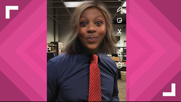 Snapchat gender bender filter takes over the newsroom