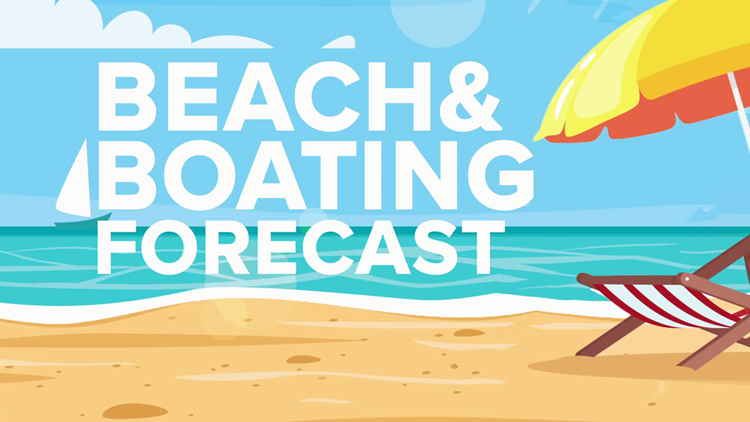 Beach and Boating Forecast