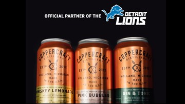 Holland distillery becomes official beverage partner for the Detroit Lions