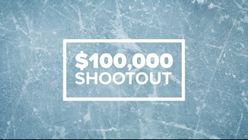 Enter to win your shot at $100,000 with the Muskegon Lumberjacks
