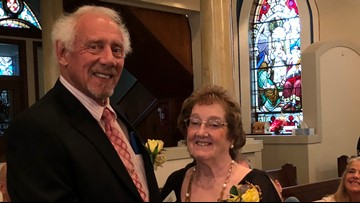 80 'Goldywed' couples celebrate 50 years of marriage