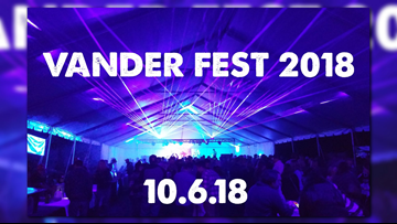 Do you love cider? Then you're going to want to attend the 9th Annual Vander Fest!