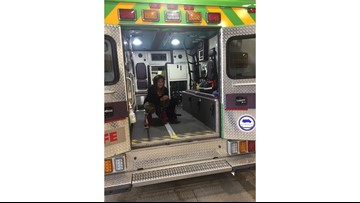 Rae spends the day with Life EMS Ambulance for emergency training