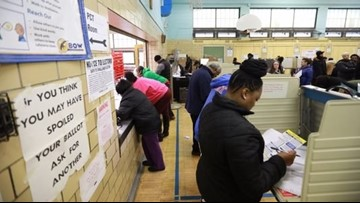 Voters stalled, turned away by malfunctioning machines