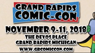 It's time for Grand Rapids Comic Con