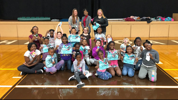 One Good Thing: SheFit donates athletic gear to elementary students