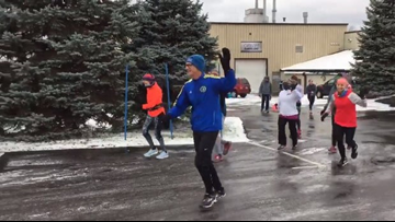Holland man runs 70 miles on 70th birthday to raise money for Special Olympics