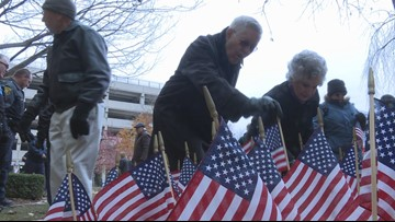 GRCC honors veterans and other service members with ceremony on Monday
