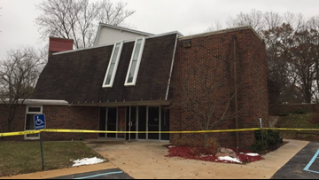 Authorities investigating suspicious fire at Plainfield Township church