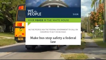 Parents start petition to make school bus safety federal law