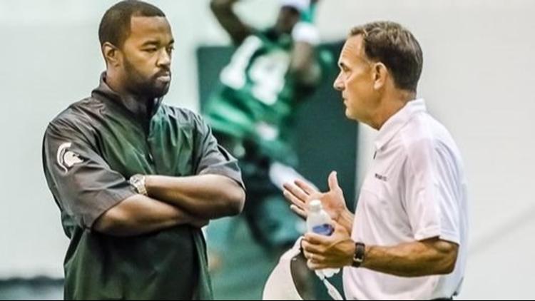 Ex-Michigan State football staffer Curtis Blackwell sues Mark Dantonio