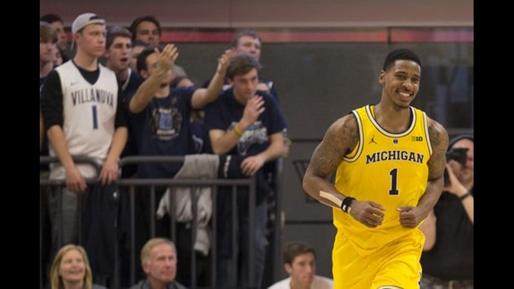 Wolverines show their fire in statement win over No. 8 Villanova