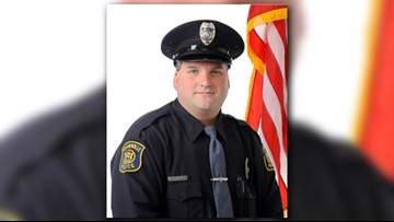 Grandville Police Department mourning the loss of fellow officer