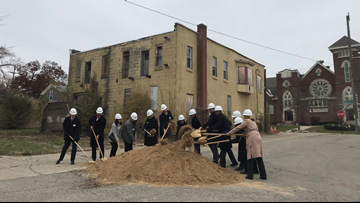 Crews break ground on affordable housing complex in Grand Rapids