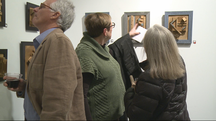 Tanglefoot opens for art show and sale