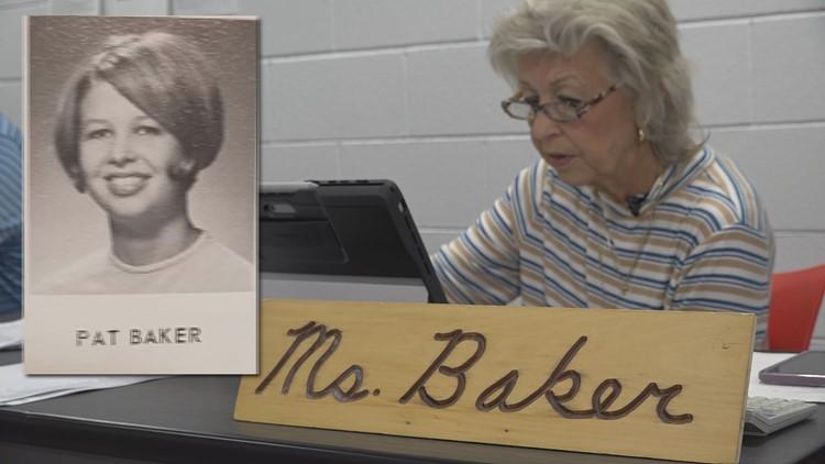 GRPS teacher celebrates 50 years teaching high school English... at the same school where she graduated