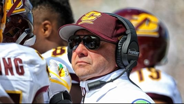 Central Michigan fires head football coach after historically bad 1-11 season