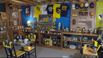 Think you're a super fan? Check out this Michigan Mega Fan Cave