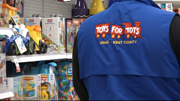 Toys for Tots shopping spree held at Meijer store
