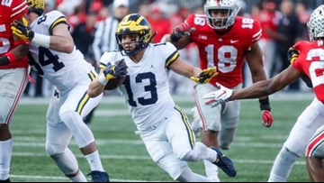 Michigan football drops to No. 8 in new AP Top 25, coaches polls