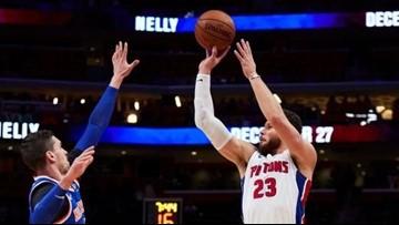 Pistons beat Knicks for third straight win