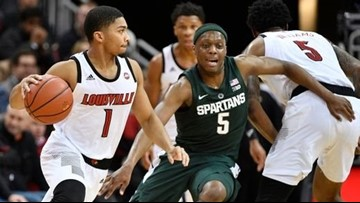 MSU upset by Louisville in OT, 82-78