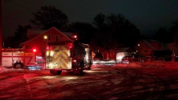 Porch fire spreads throughout Wyoming home