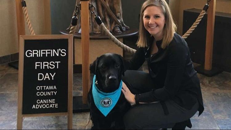 Griffin, Ottawa County service dog 2