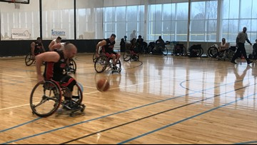 Wheelchair basketball tournament brings national stars to Grand Rapids