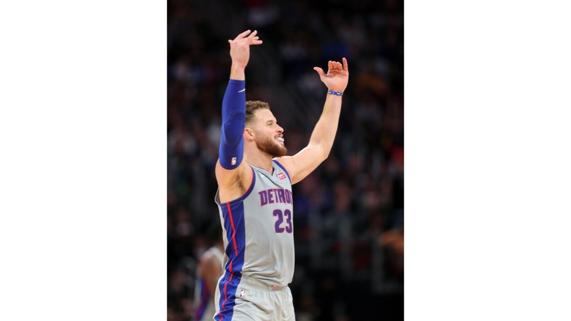 Blake Griffin leads Detroit Pistons past Golden State Warriors 111-102