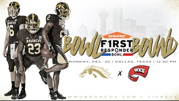 Western Michigan to play Western Kentucky in First Responder Bowl