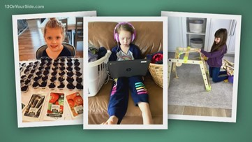 Balance work and school at home