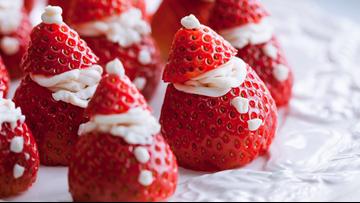 10 Days of Holiday Recipes: Strawberry Santas