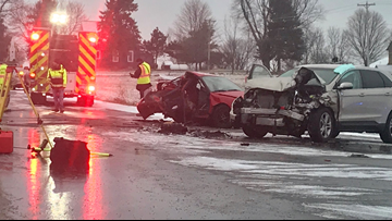 2 teenagers seriously hurt in Sparta Township crash