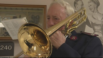 Salvation Army spreads Christmas cheer to Veterans in Grand Rapids