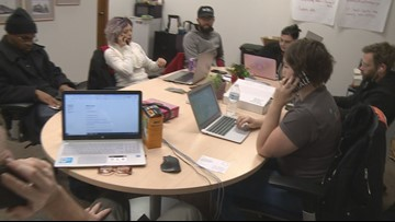 Democrats hold phone bank event in Grand Rapids