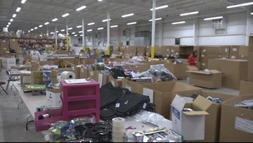 Local company donates warehouse, Toys For Tots campaign continues