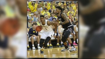 Jordan Poole's career day helps Michigan hold off South Carolina 89-78