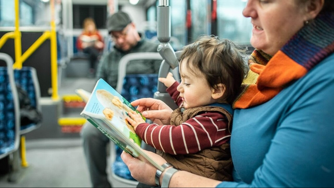 New program allows Rapid riders to read free books on the bus