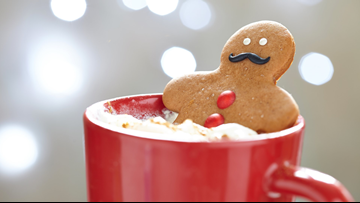 10 Days of Recipes: Gingerbread People in Hot Chocolate Tubs