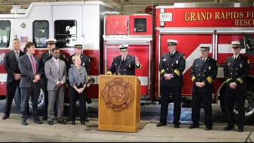 Grand Rapids Fire Dept. first in state to receive #1 rating for fire protection services